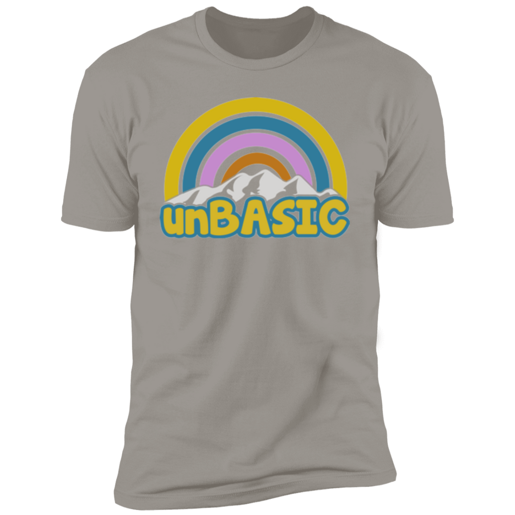 unBASIC Rainbow Short Sleeve T-Shirt