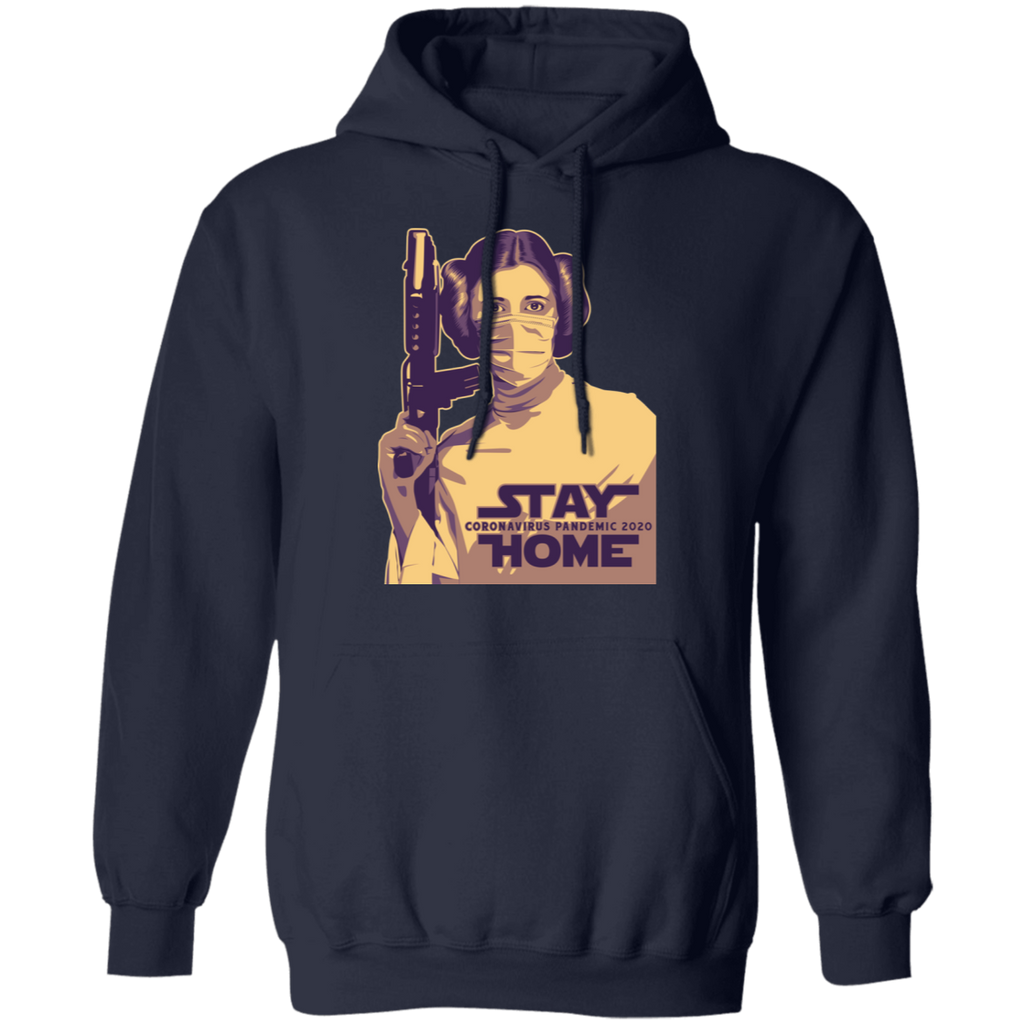 STAY HOME LAILA Pullover Hoodie