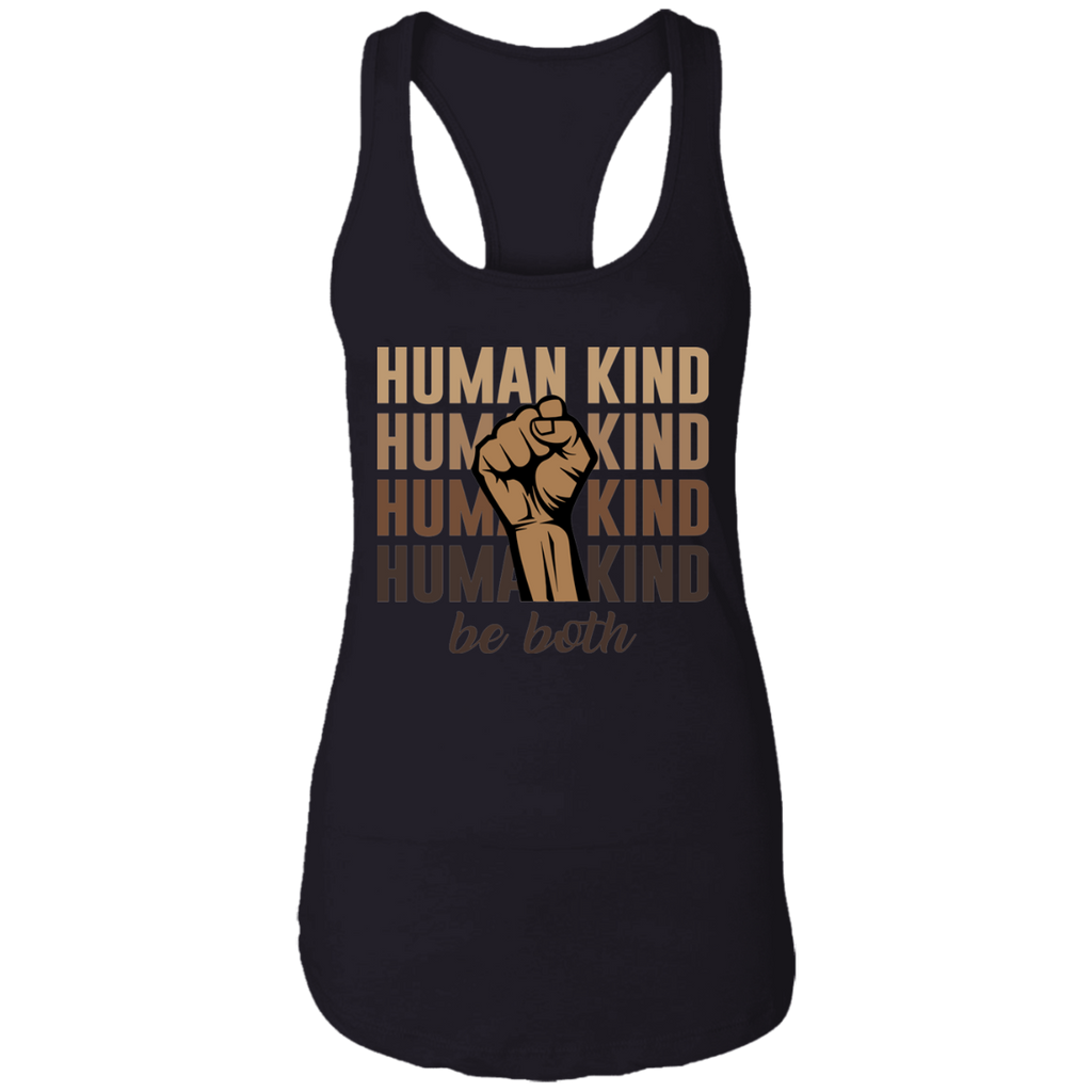 Human Kind Ladies Racerback Tank