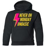 Never on a Monday Youth Pullover Hoodie