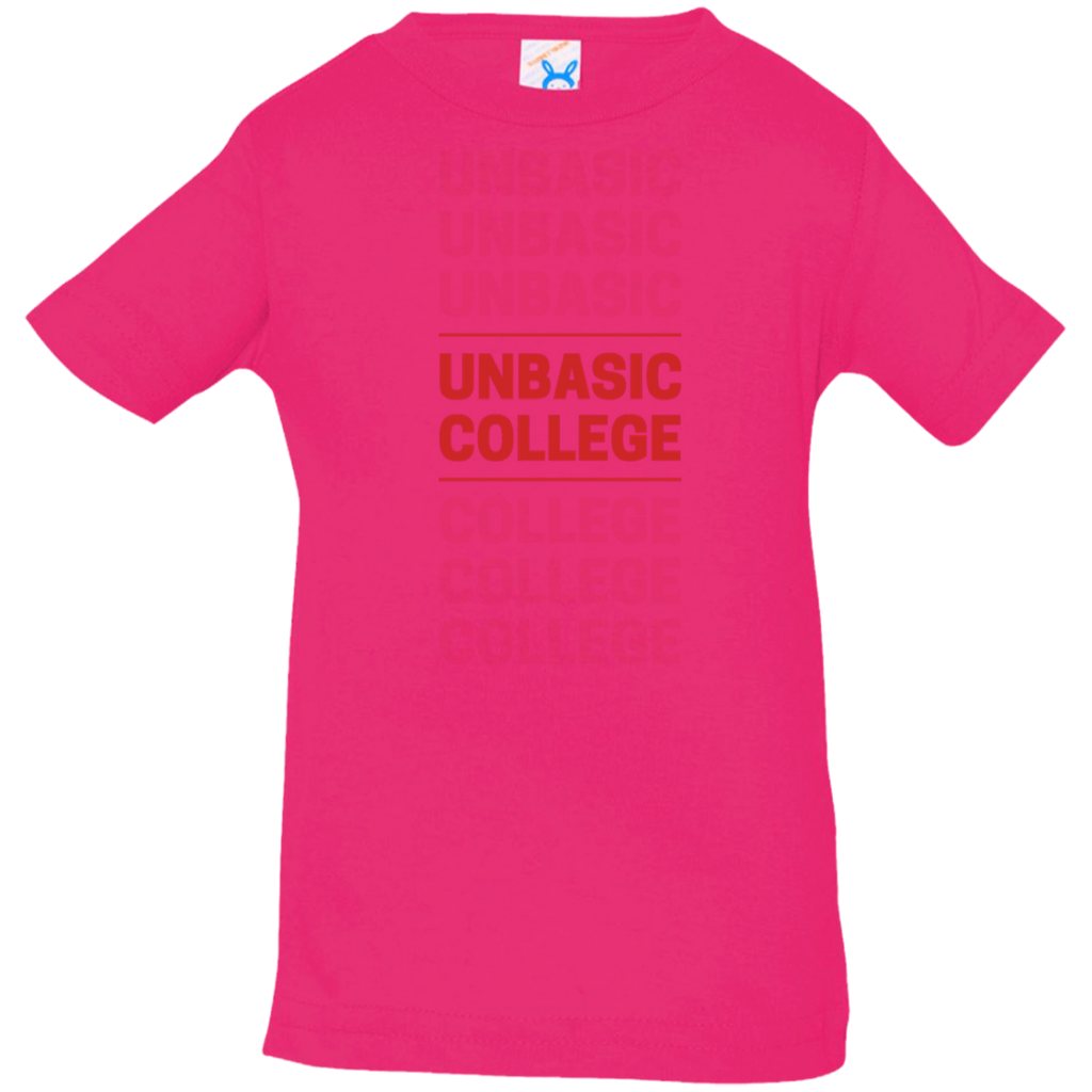 unbasic College Infant Jersey T-Shirt
