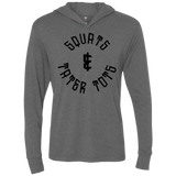 Squat and Tater Tots Triblend LS Hooded T-Shirt