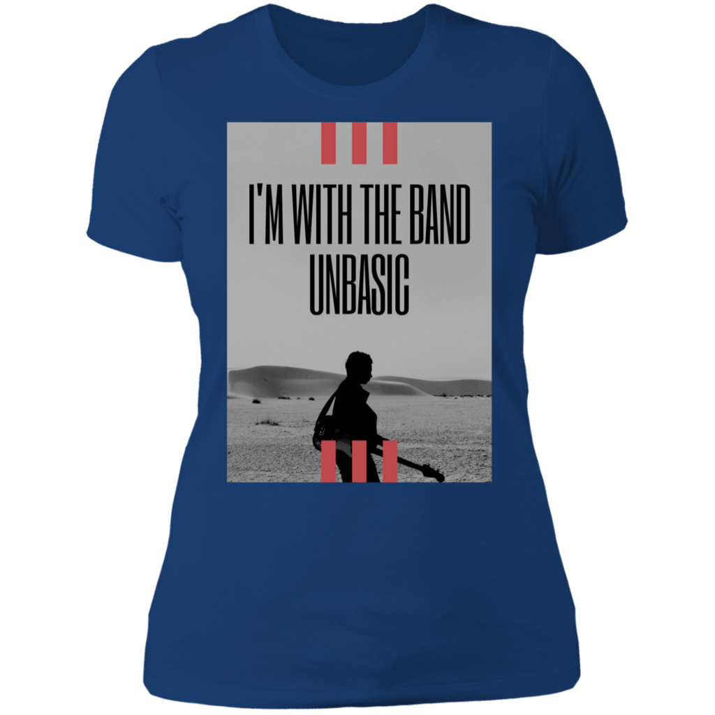 I'm with the band UNBASIC Boyfriend T-Shirt