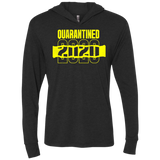 QUARANTINED Triblend LS Hooded T-Shirt