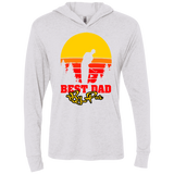 Best Dad By Par Triblend LS Hooded T-Shirt