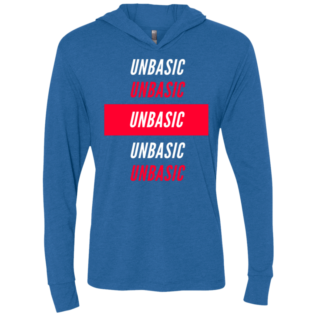 UNBASIC UNBASIC UNBASIC Triblend LS Hooded T-Shirt