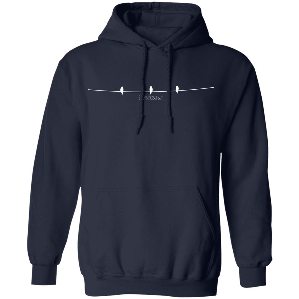 Birds on a Wire Pullover Hoodie