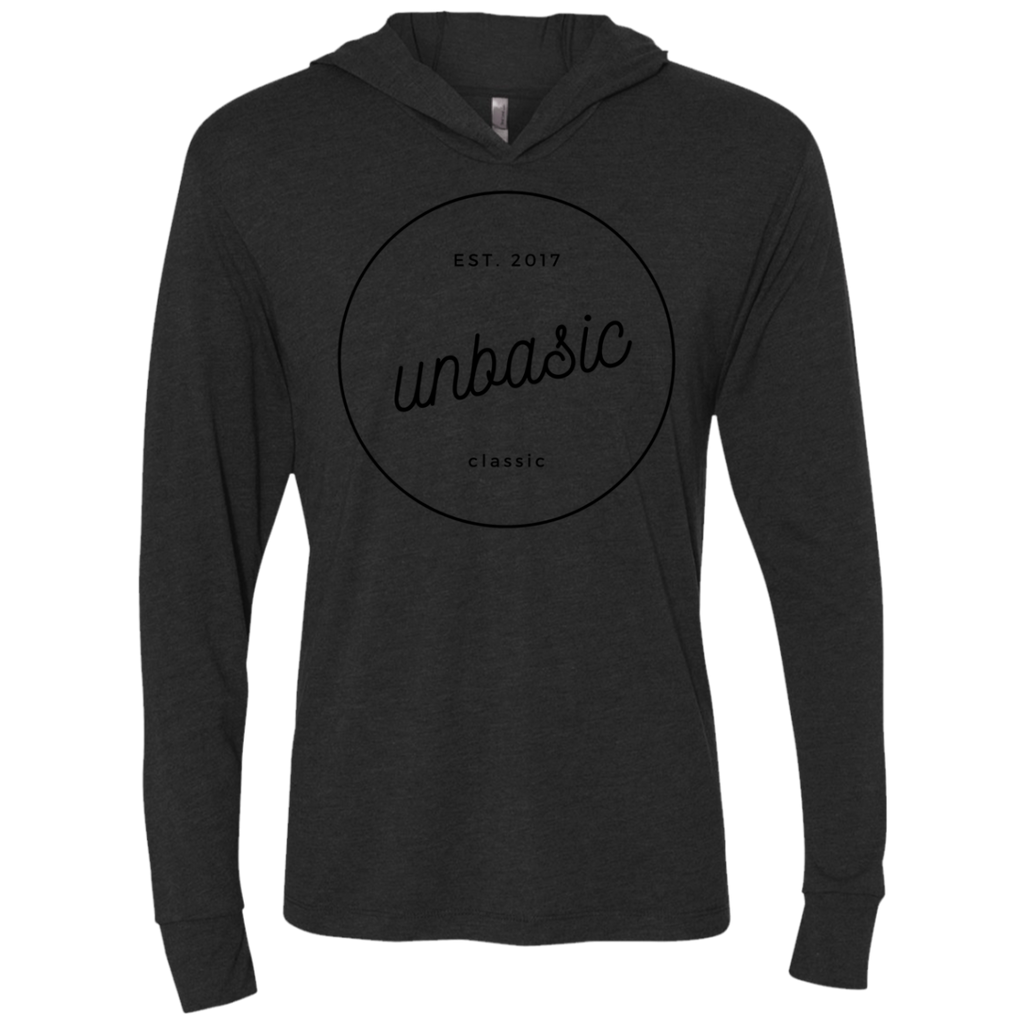 unBASIC Classic Triblend LS Hooded T-Shirt
