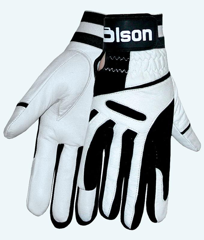 Unisex Ultrafit White Curling Gloves