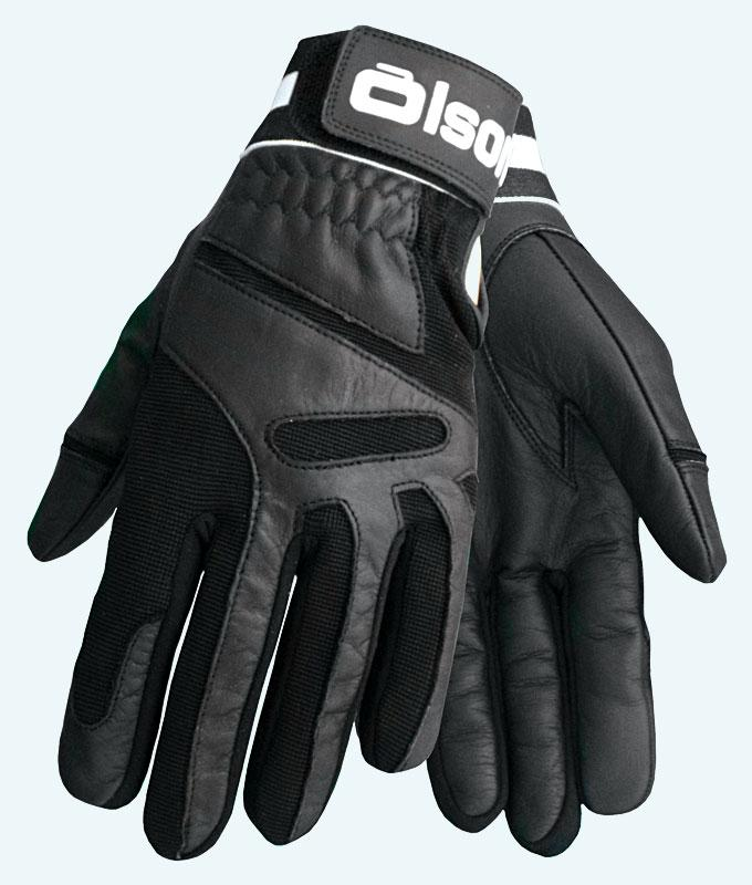 Unisex Ultrafit Black Curling Gloves