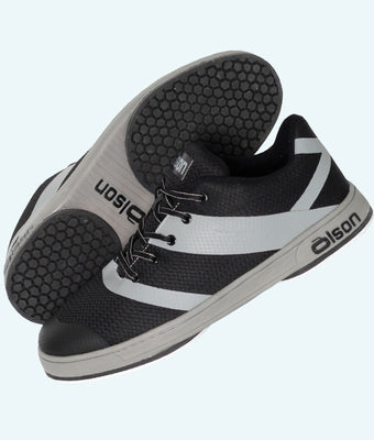 "Men's CrossKicks Black/Grey 1/16"" Split Slider (LH)"