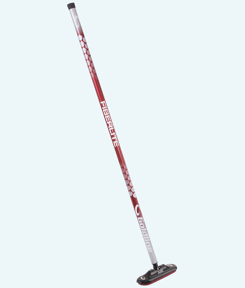 Fiberlite Air X Curling Broom - Red Dragon