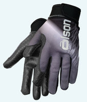 Friction Unisex Curling Gloves Grey/Black