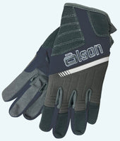 Men's-V-Flex Unisex Curling Gloves - Charcoal/Navy