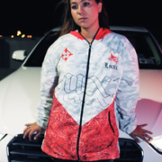 Luxx White Windbreaker