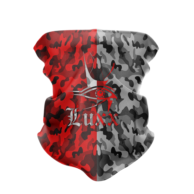Luxx Red/Black Buff Mask