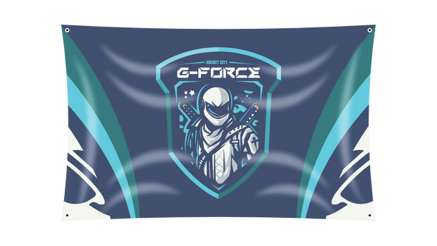 Rocket City G-Force Flag