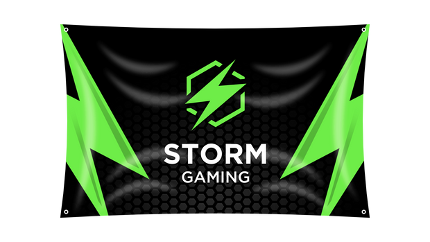 Storm Gaming Flag