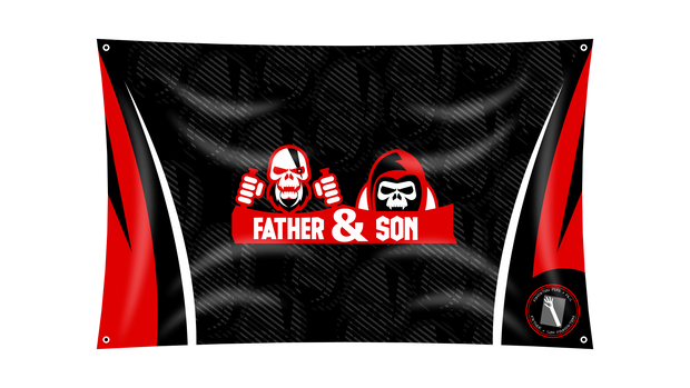 Father & Son Flag