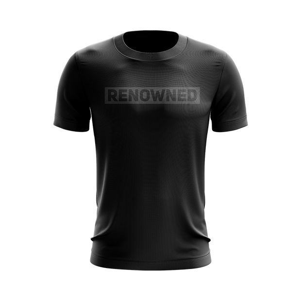 Renowned T-shirt Black/Grey
