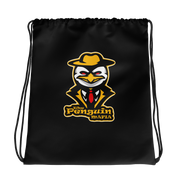 The Penguin Mafia Drawstring