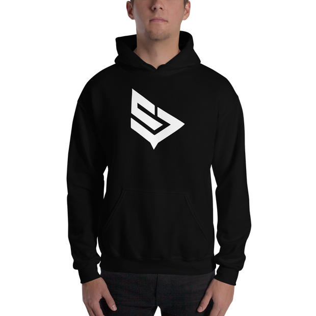 Purified Salt Black Hoodie