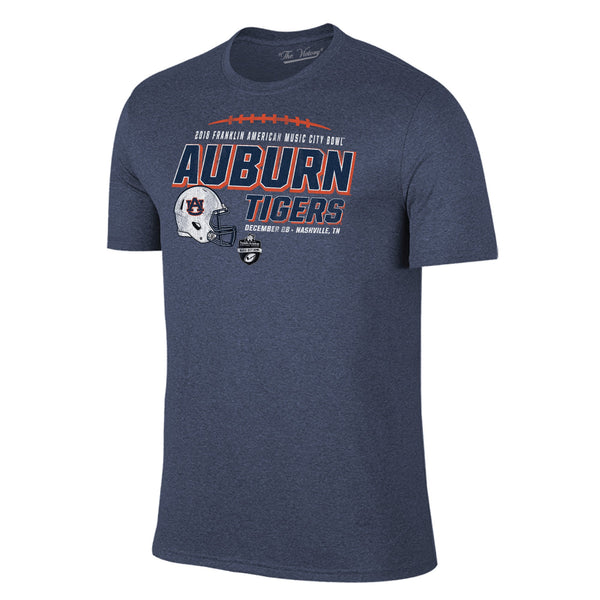 Music City Bowl Auburn Short Sleeve The Victory Tee Shirt by Retro Brand