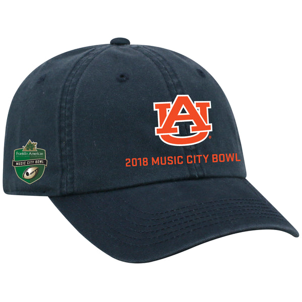 Music City Bowl Top of the World Auburn Cap