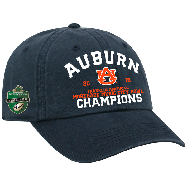 Music City Bowl 2018 Champions Top of the World Auburn Tigers Cap