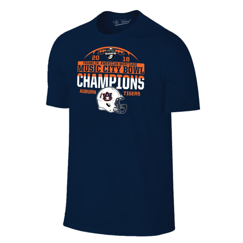 Music City Bowl Auburn Champs Short Sleeve The Victory Tee Shirt by Retro Brand