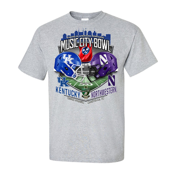 2017 Music City Bowl Team-vs-Team Youth Cotton Short Sleeve Tee