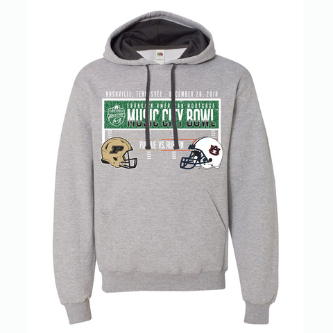 Music City Bowl Auburn Vs. Purdue Hoodie Sweatshirt