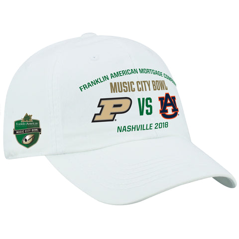 Music City Bowl Top of the World Auburn Vs. Purdue Cap