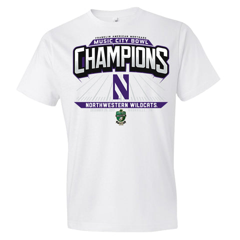 2017 Music City Bowl Champions Short Sleeve Cotton Tee