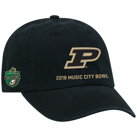 Music City Bowl Top of the World Purdue Cap