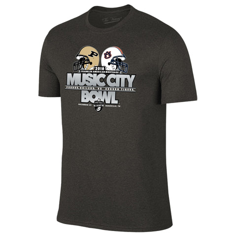 Music City Bowl Auburn Vs. Purdue Short Sleeve The Victory Tee Shirt by Retro Brand