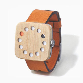 Smart watches wood edition