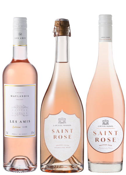 French rosé mix