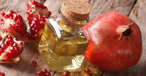 What is Pomegranate Seed Oil and how does it strengthen and rejuvenate the skin?