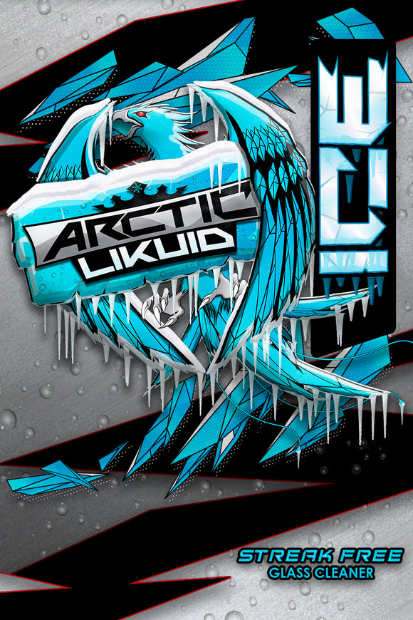 Arctic Likuid - ICE - Streak Free Glass Cleaner *COMING SOON*