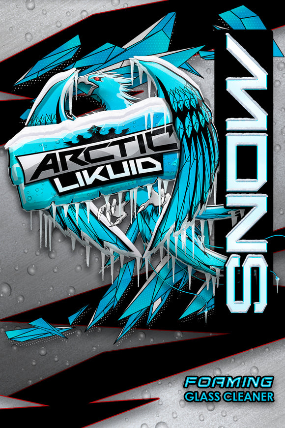Arctic Likuid - SNOW - Foaming Glass Cleaner *COMING SOON*