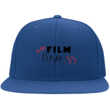 In The Film Business - Yupoong Flat Bill Twill Flexfit Cap
