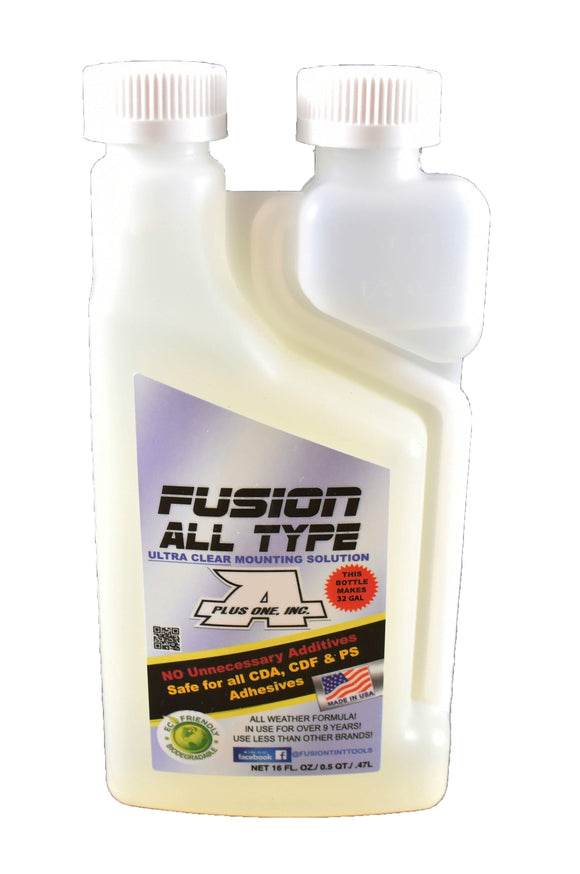Fusion Tools Film Solution Fusion All Type - Film Mounting Solution - 16oz Bottle