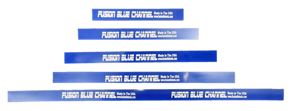 Fusion Tools Squeegee Fusion Blue Channel Squeegee