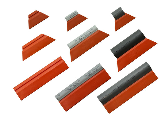 Fusion Tools Squeegee Fusion Orange Turbos