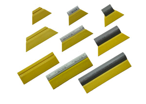Fusion Tools Squeegee Fusion Yellow Turbos