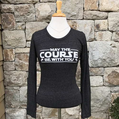 727f77d5 May the course be with you - Long sleeve – The Blissful Equestrian