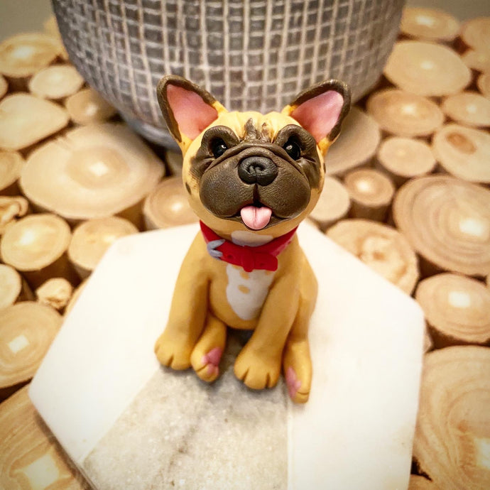 Custom Clay Dog Sculptures