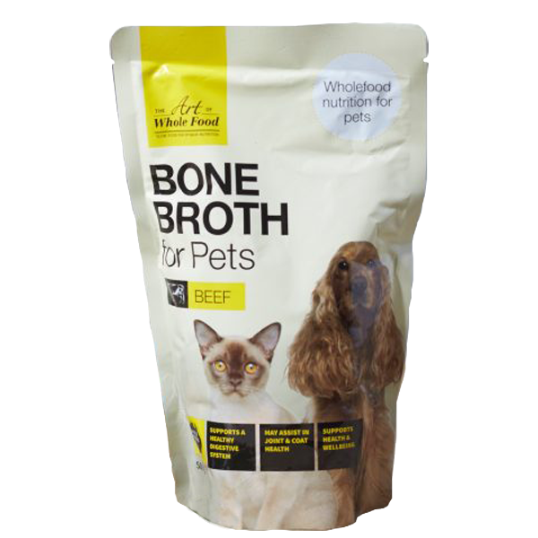 Beef Bone Broth for cats and dogs