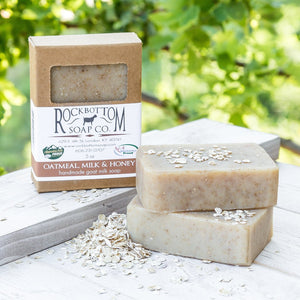 Rock Bottom Soap - Oatmeal Goat Milk Soap